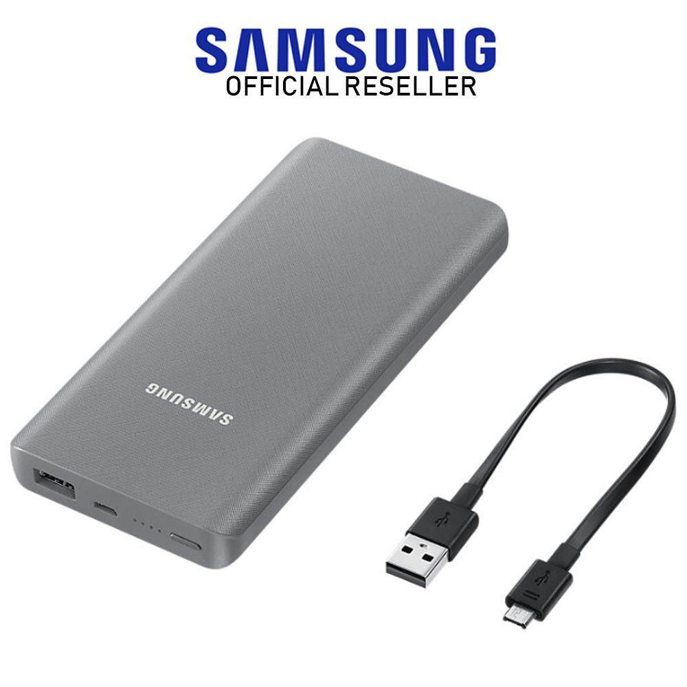 Samsung Battery Pack 10200mah Black Powerbank Original New 10200 Mah Slim 10000mah Navy Blue Silver