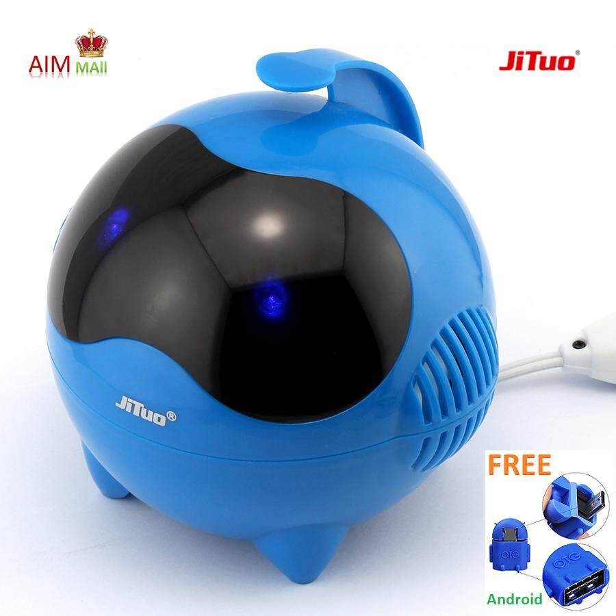 JITUO JT2000 6W(RMS) 3D Stereo 2.0 Dual-Speaker USB powered cute speaker Malaysia