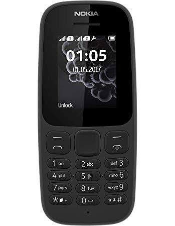 Nokia 105 Ori Basic Phone 1 Year Warrenty By Malaysia