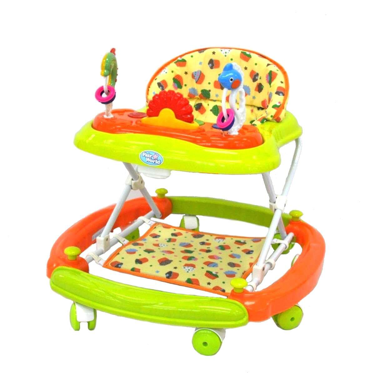 Fairworld Baby Walker with Musical Toys (BT 810R3/HD)