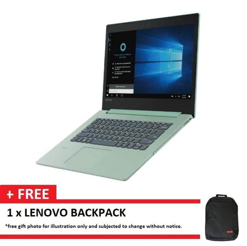 LENOVO IDEAPAD 330-14IKBR 81G20034MJ GREEN (I5-8250U/4GB/1TB/2GB 530/14/W10/2YRS) + BACKPACK Malaysia