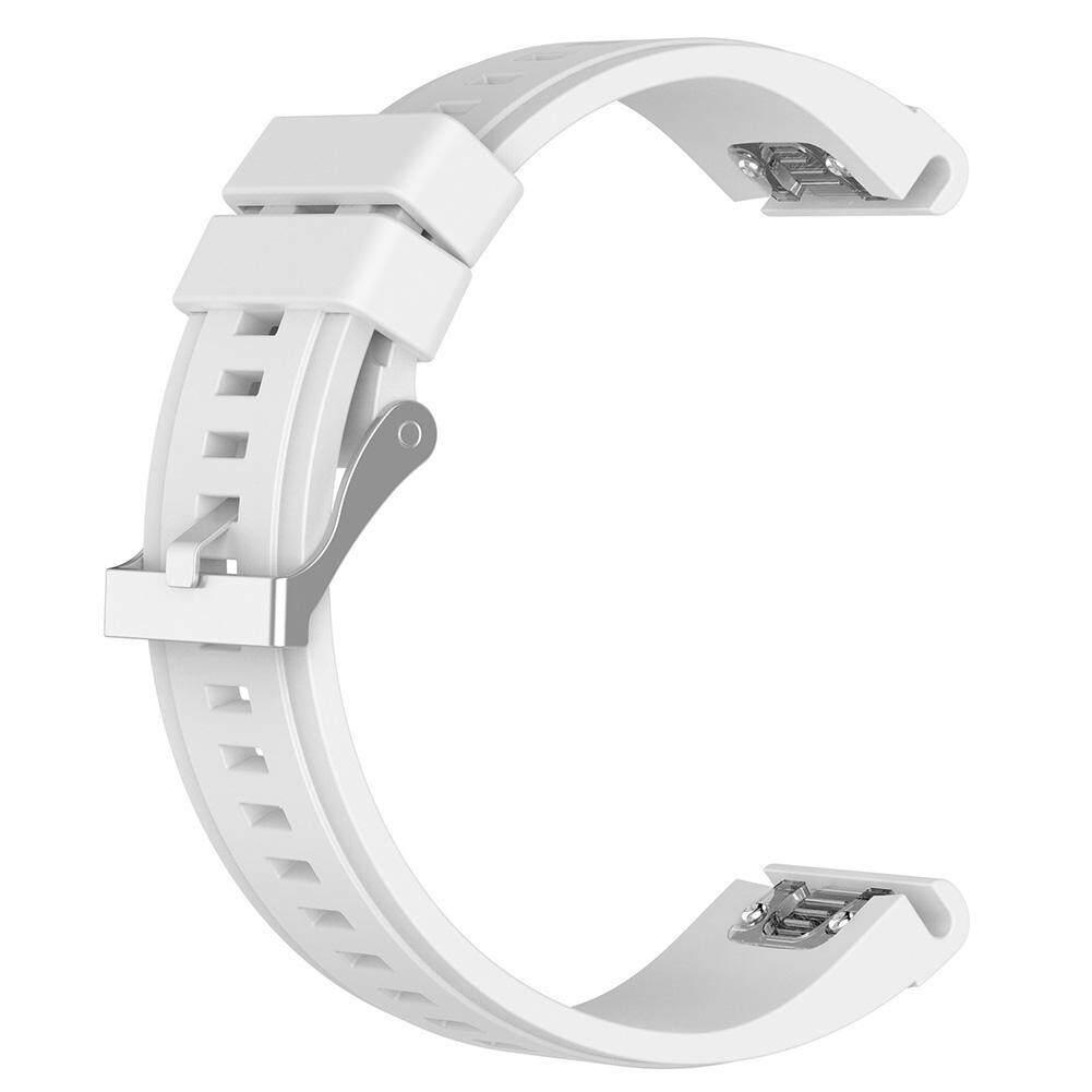 26mm Silicone Quick Release Wrist Band Watch Strap for Garmin Fenix 5X/3 Malaysia