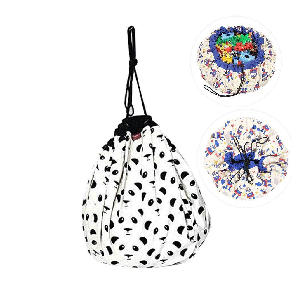 Niceeshop Extra Large Stuffed Animal Storage Bean Bag Chair - Stuff N Sit - By Pouf Ottoman For Toy Storage For Kids By Nicee Shop.