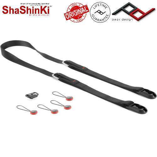 Peak Design Leash Camera Strap (black) By Shashinki.