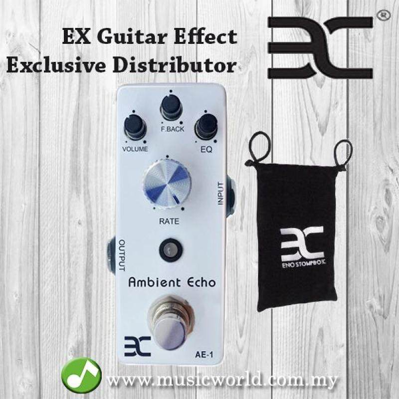 ENO EX TC-21 AE-1 Ambient Echo Electronic Guitar Effect Pedal Pure Analog True Bypass (TC21 / TC 21) Malaysia