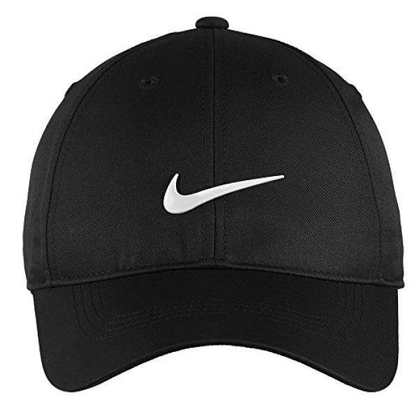 79bf7971cb9 ... inexpensive nike authentic dri fit low profile swoosh front adjustable  cap black 01d83 97680