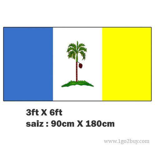 3*6 Flag (nylon), Penang Flag By 1go2buy.