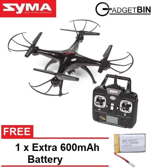 Syma X5SW Explorers 2 2 4GHz 4 Ch\ WiFi FPV 6 Axis 3D RC Quadcopter FREE 1  x Extra 600mAh Battery
