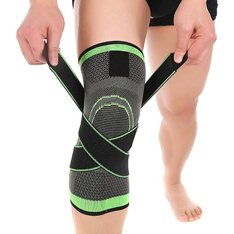 3d Weaving Pressurization Knee Brace Hiking Cycling Knee Support Protector Knee Pad L By Superbuy666.
