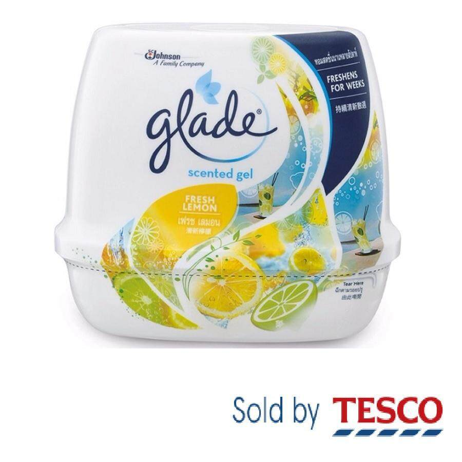 Glade Buy At Best Price In Malaysia Twin Pack Matic Spray Refill Ocean Escape Scented Gel Lemon 180g