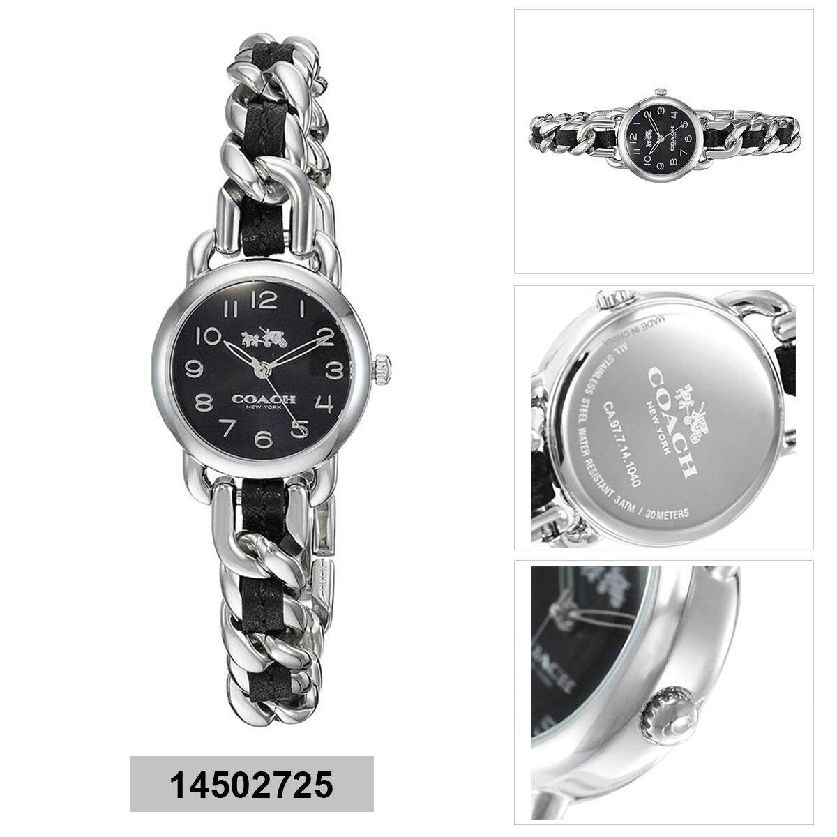 Coach Coach Delancey Multicolored Stainless-Steel Case Two-Tone-Stainless-Steel Bracelet Ladies 14502725 Malaysia