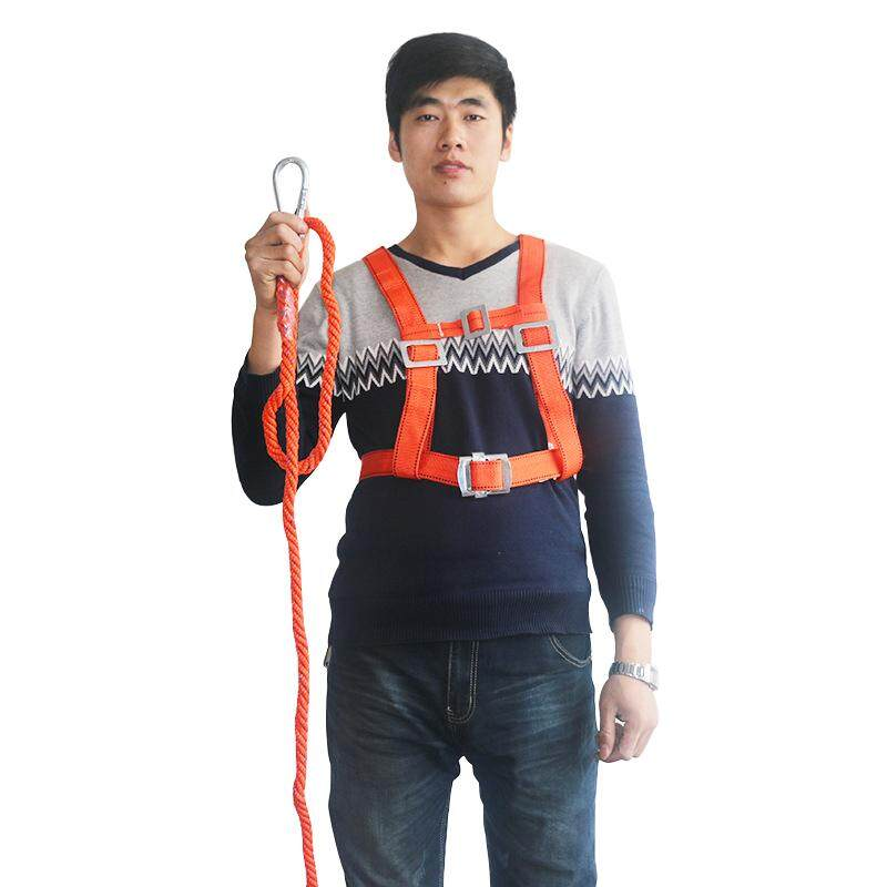 Safety Belt Single hook Safety Harness 3 Meters long rope For Labor Working Construction Worker Protective equipment