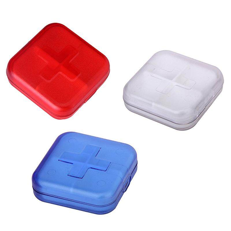 Pill Box with 4 Compartments - Random Color