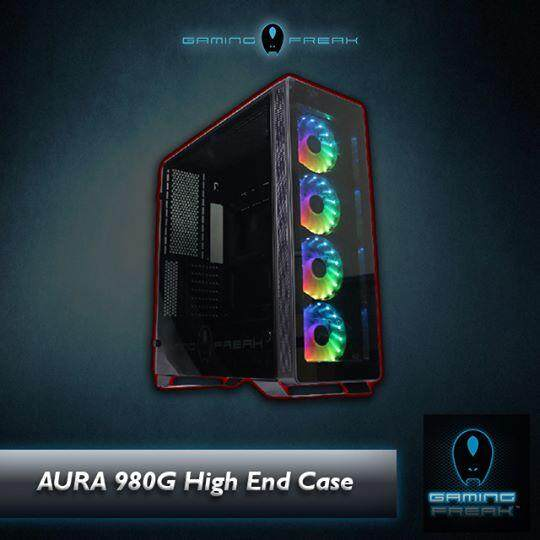 GamingFreak AURA 980G Hi-End Tempered Glass PC Chassis Malaysia