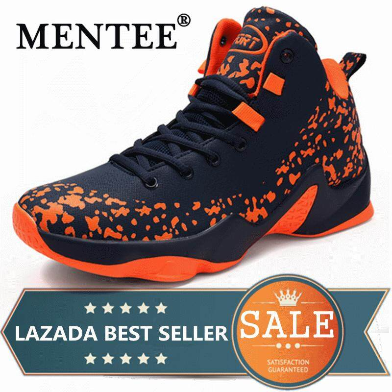 MENTEE Men s Basketball Shoes Sport Outdoor Fashion Casual Street High Top  Sneakers e664c05bab