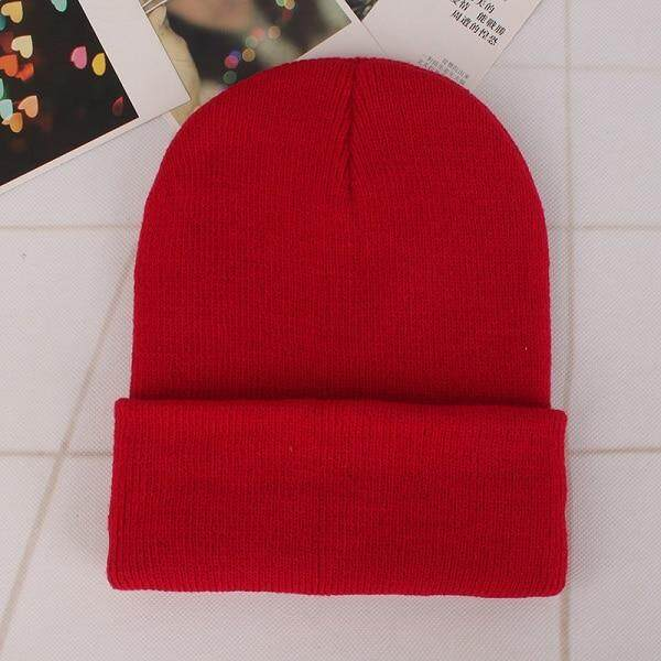 2019 Winter Hats For Woman New Beanies Knitted Solid Cute Hat Girls Autumn Female Beanie Caps Warmer Bonnet Ladies Casual Cap By Bochang.