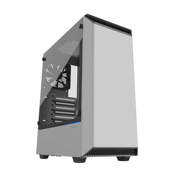 [CAS]Phanteks Eclipse P300 Mid Tower ATX Case Tempered Glass White Malaysia