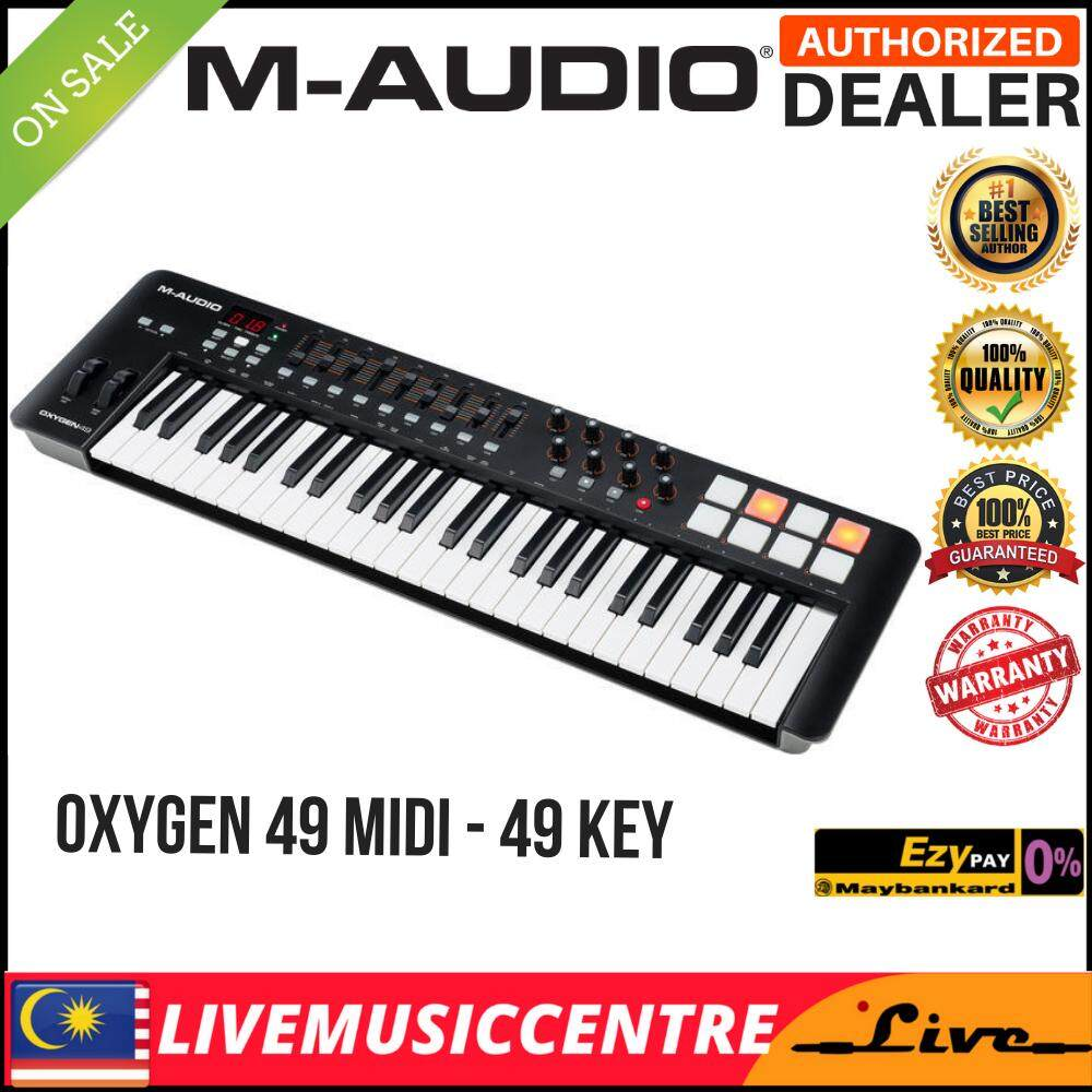 M-Audio Oxygen 49 IV USB MIDI Keyboard Controller