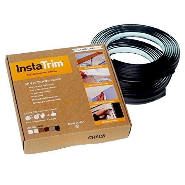 InstaTrim - Universal, Flexible, Adhesive Trim Solution - Cover Gaps Between Walls, Floors, Ceilings, and More