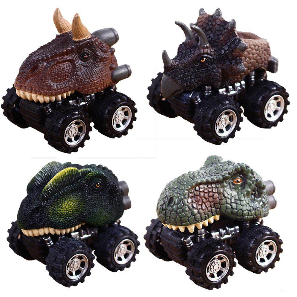 Goodgreat Factory Direct Sales Inertial Dinosaur Inertial Ejection Dinosaur Series Deformation Car With The Key Four-Drive Animal Car By Good&great.