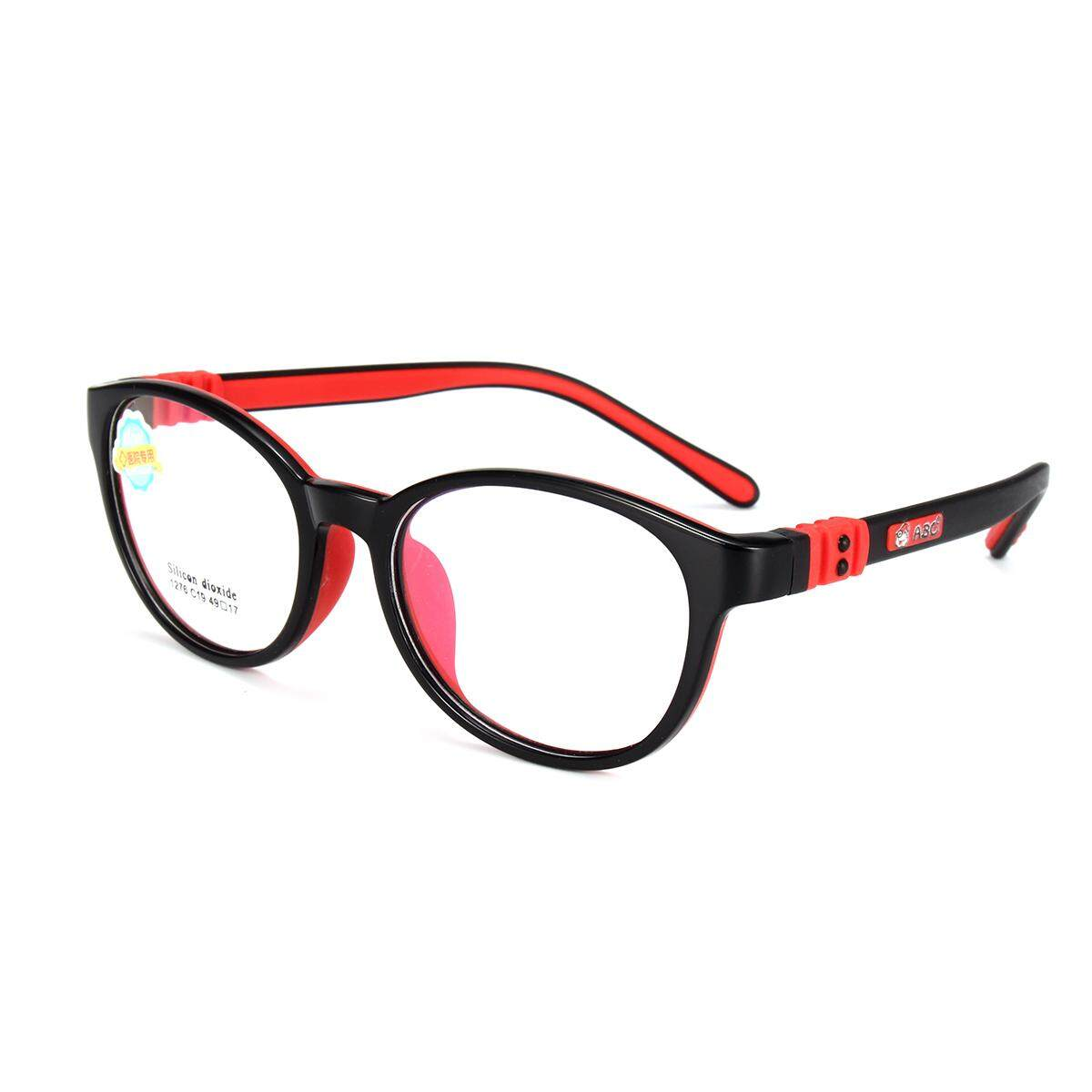 2a52b07ab09 Child s Children Girl Boy Silicone Flexible Eyeglasses Frames Myopia Glasses  RX