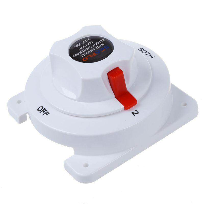 Seaflo Marine DC Battery Selector Switch 3 Position 300 Maximum Amp for 6-32V System