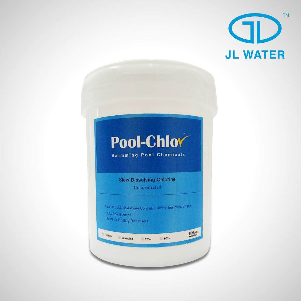 Pool-Chlor 70% Swimming Pool Chemical (Granular 1kg)