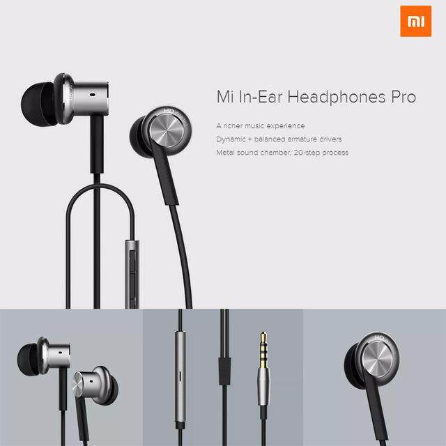 Xiaomi Mi Piston V4 Hybrid IEM In-Ear Headphone (Black)