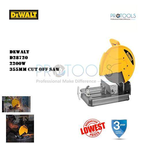 Dewalt D28720 2300w 355mm Chop Saw Cut Off Saw Metal Saw Metal Miter Saw Mitre By Protools One Stop Solution.