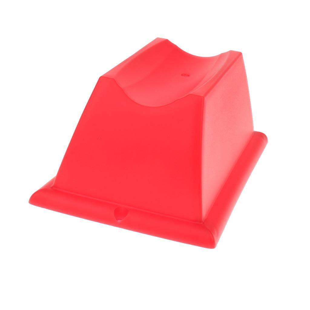 Flameer Mtb Front Wheel Riser Block Stabilize Mat For Indoor Bicycle Trainers Red By Flameer.