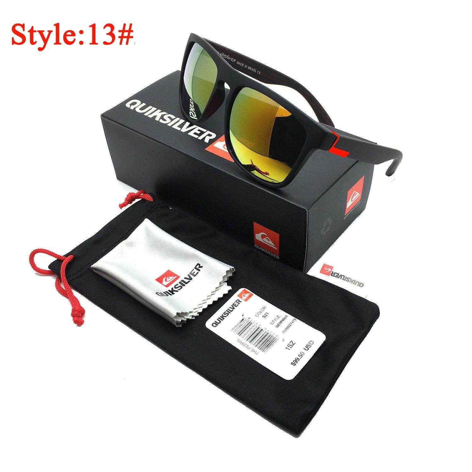 0835fcef0d Stylish Men Women Outdoor Sunglasses UV400 Lightweight Clean Vision  Sunglasses Style 13
