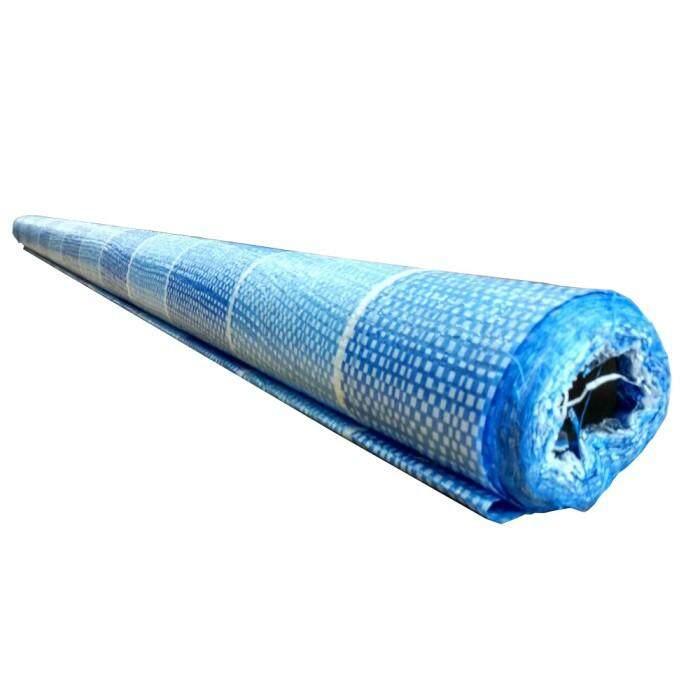 6 Kaki X 90 Kaki Blue White Colour Canvas Tarpaulin Roll Sheet