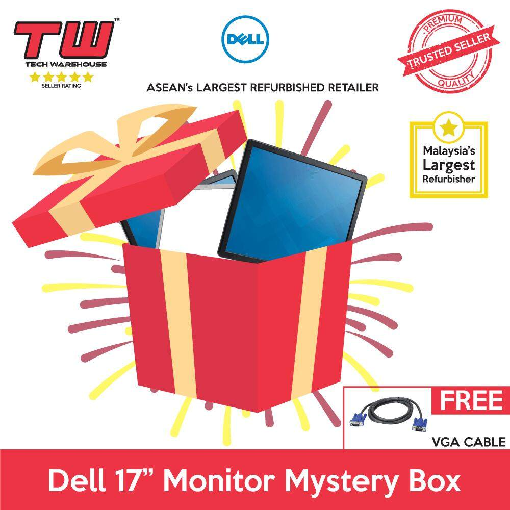 "Dell 17"" Monitor Mystery Box (Factory Refurbished) Malaysia"