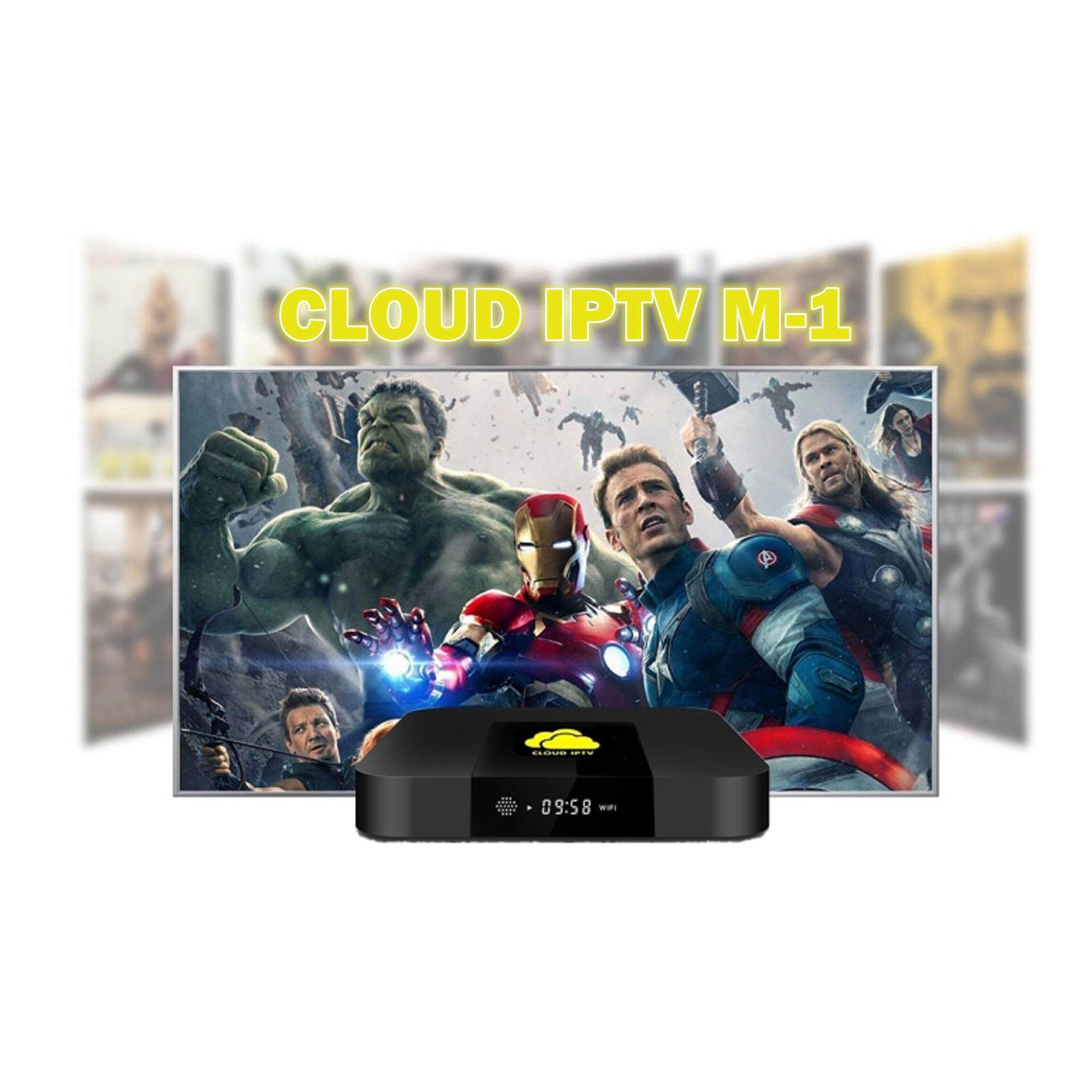 CLOUDIPTV M 1 FREE LIVE TV & VOD 2GB 16GB Best Android TV Box