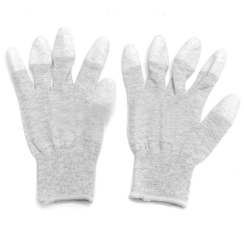 Anti Static Anti Skid ESD Electronic Labor Working Glove PC Computer Repair Size: S