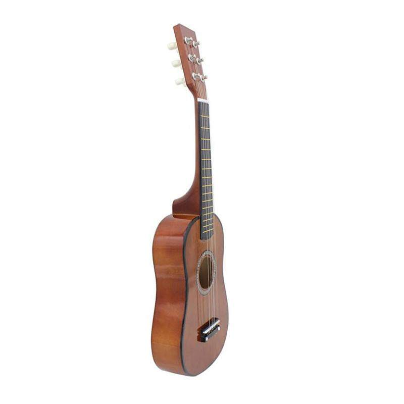 Miracle Shining 23inch 6 String Acoustic Guitar for Children Kids Educational Toys Coffee Malaysia