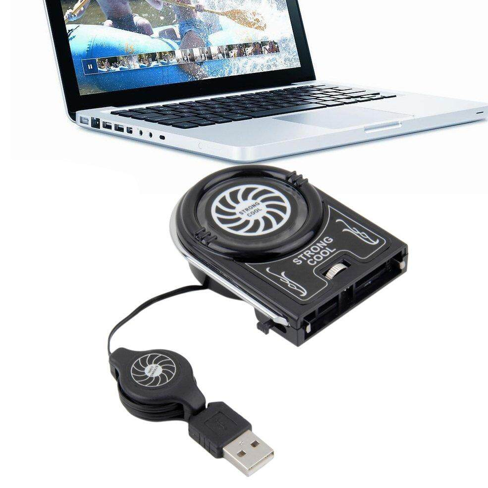 QNstar Mini Vacuum USB Cooler Air Extracting Cooling Fan Pad for Notebook Laptop Malaysia