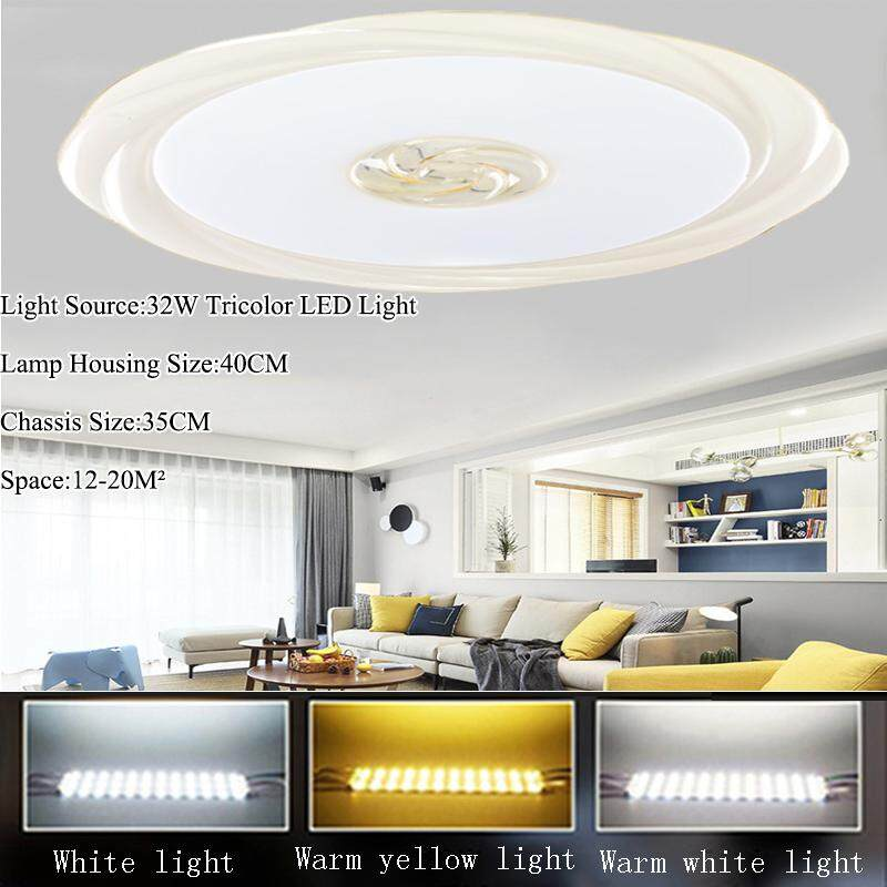 LED Lighting Simple Style Lighting Ceiling Modern Fashion Light Fixtures Simple Design Lighting Studion Trichromatic Lighting