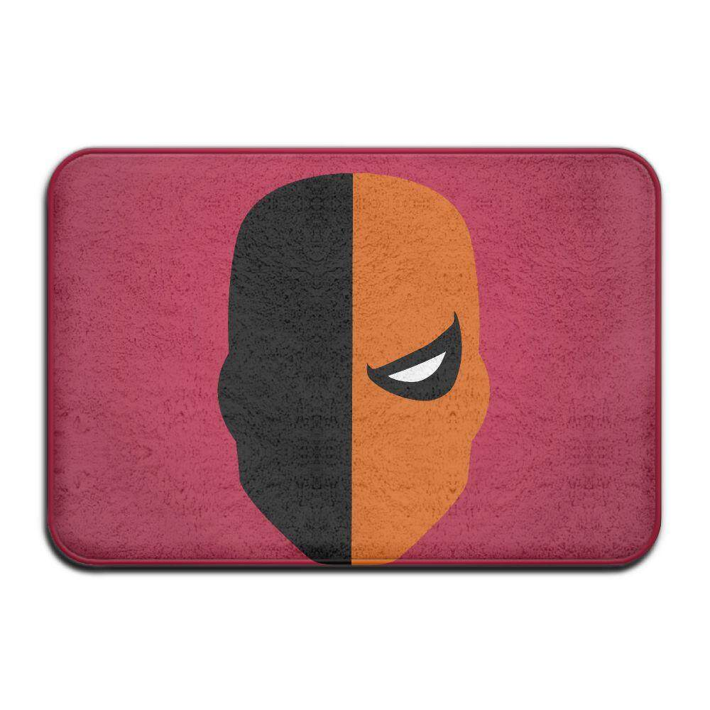 ... Super Villain Deathstroke Non slip Printed Soft Mat Rug Door Mat Bathroom Toilet Bedroom Mat