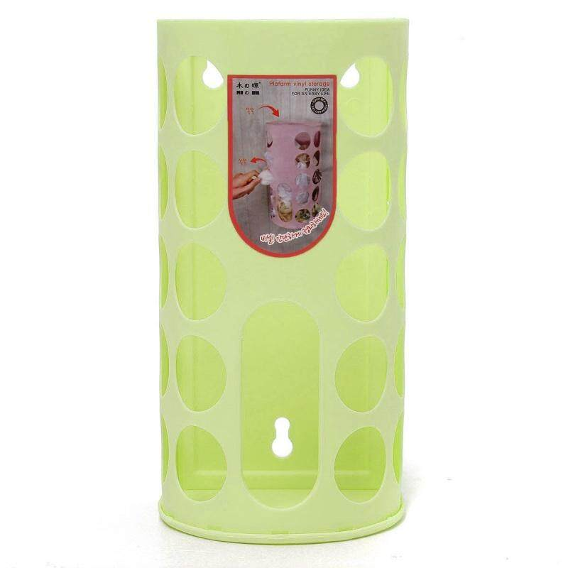 Elegant Life Shopping Plastic Carrier Bags Bag Storage Holder Dispenser Rack Green By Werinc.