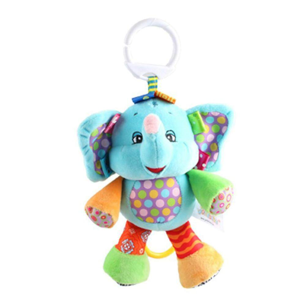 Tideshop Baby Appease Towel Animals Comforting Doll Elephant Development Plush Toy By Tideshop.