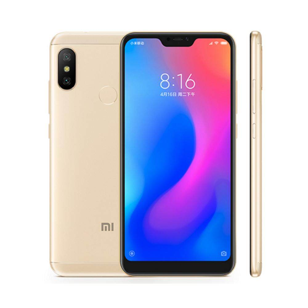 Global Version Xiaomi Mi A2 Lite Mobile Phone 5.84 19:9 Full Screen Snapdragon 625 Octa Core Smartphone Dual AI Cameras Android One