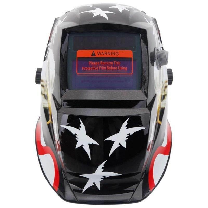 Welding Helmet Solar Auto Darkening,Adjustable Shade Range DIN 9-13/Rest DIN 4,Welder Protective Gear ARC MIG TIG