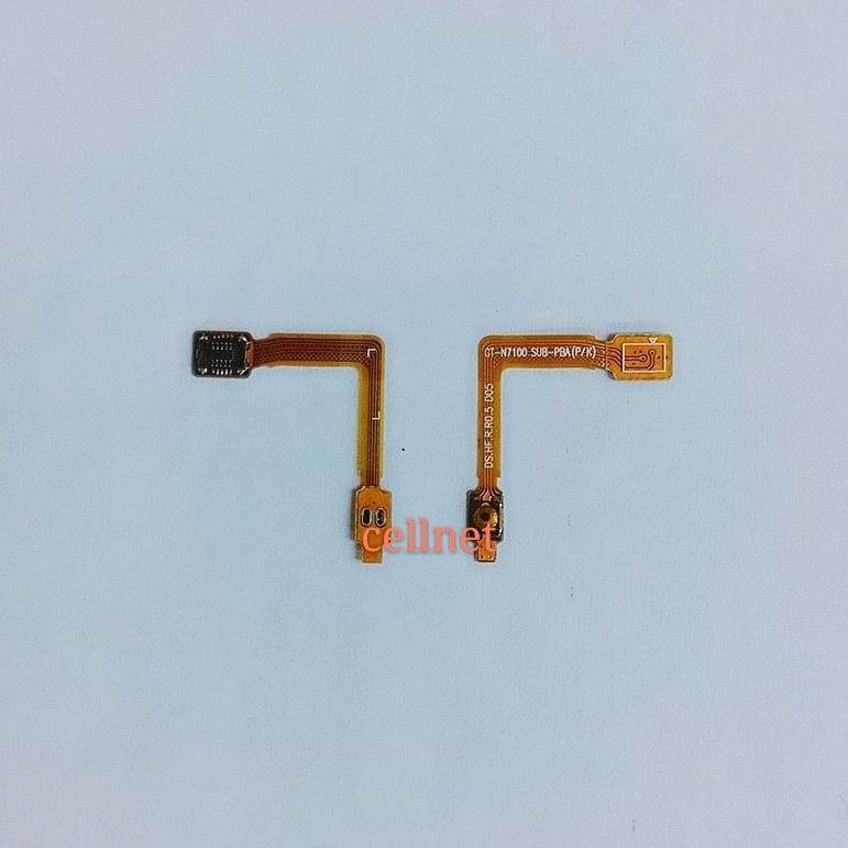 Samsung Galaxy Note 2 N7100 Power On Off Button Flex By Cellnetelectronics.