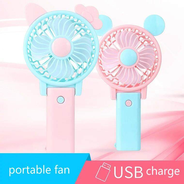 Portable Hand Fan Battery Operated Usb Power Handheld Mini Fan Cooler With Strap By Stone88.