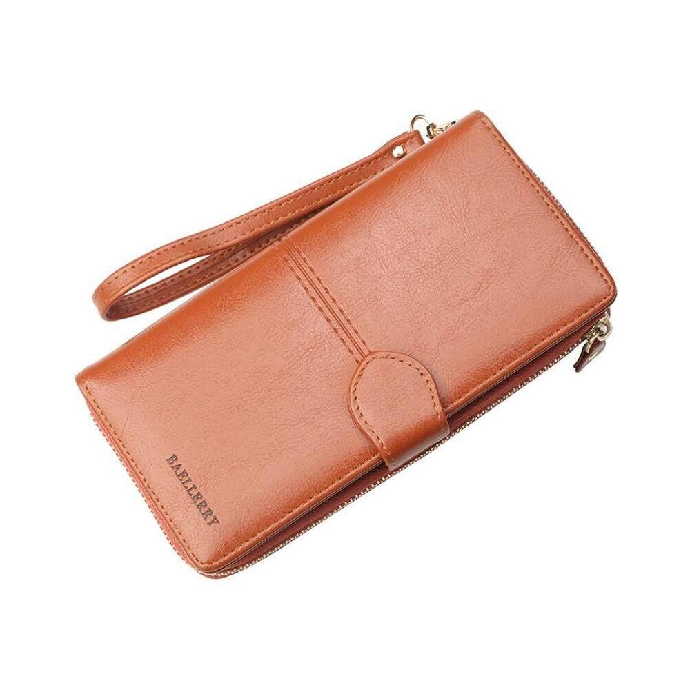 4GL Baellerry N3846 Women Long Zipper Purse Wallet Wristlet Card Holder  Dompet ac8e0ed494