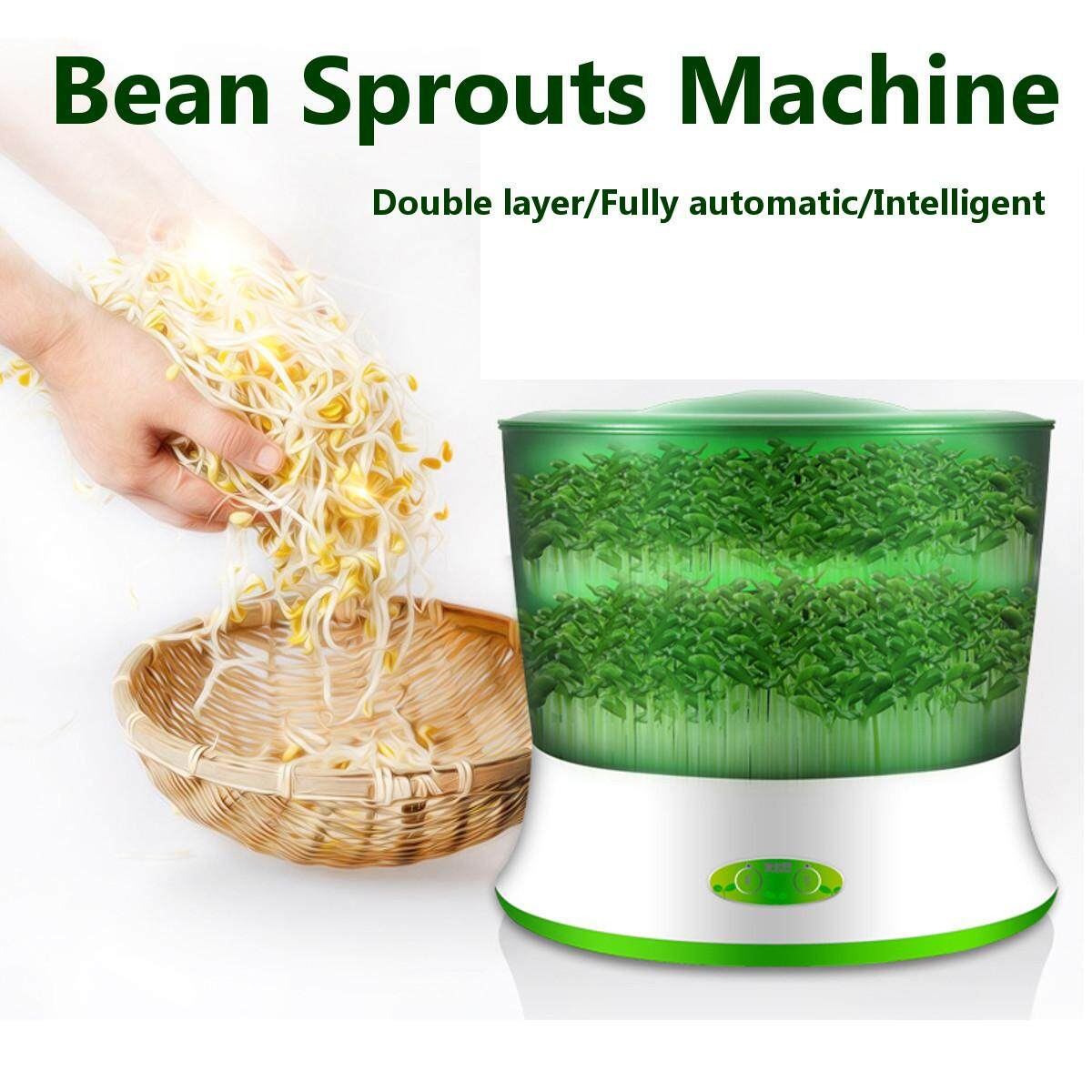 Double Layer 220V Automatic Homemade Multifunctional Bean Seed Sprouts Machine