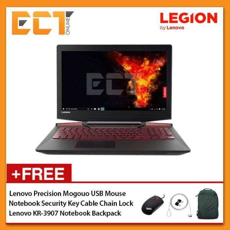 Lenovo Legion Y720-15IKN 80VR00L4MJ Gaming Laptop (i7-7700HQ 3.80GHz,2TB+256GB SSD,8GB,GTX1060-6G,15.6 UHD,W10) - Black Malaysia