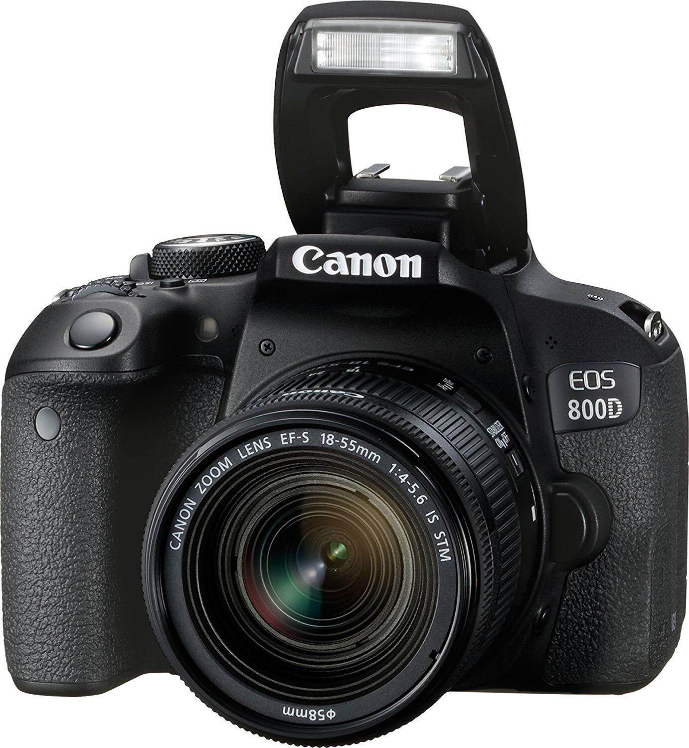 Canon EOS 800D DSLR Camera with EF-S 18-55mm f/4-5.6 IS STM Lens ( ORIGINAL Canon Malaysia)(Online Redeem Battery pack LP-E17 + CASHBACK RM200 ) 1 AUGUST 2018 - 30 SEPTEMBER 2018