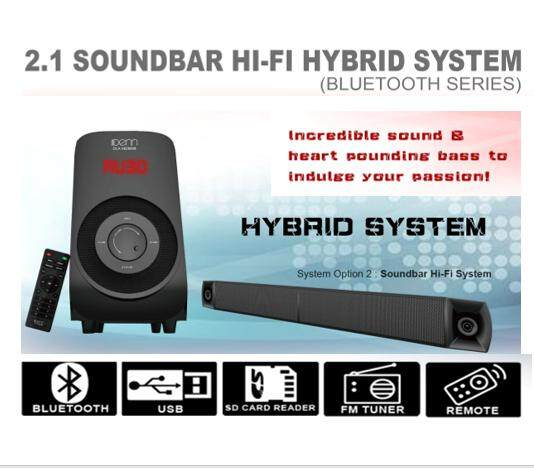 Denn Soundbar Speaker (dlasb2800b) By Ls Electrical.